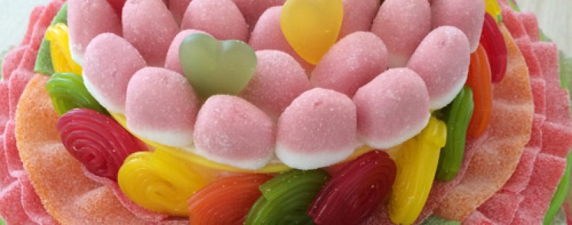 Bolo de doces